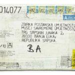 Mail 2014077 (2014) (ongoing Banja Luka series), Muzej Savremene Umjetnosti Republika Srpska