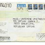 Mail 2014010 (2014) (ongoing Banja Luka series), Muzej Savremene Umjetnosti Republika Srpska