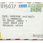 Mail 2015037 (2015) (ongoing Banja Luka series), Muzej Savremene Umjetnosti Republika Srpska