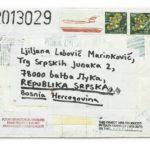 Mail 2013029 (2013) (ongoing Banja Luka series), Muzej Savremene Umjetnosti Republika Srpska