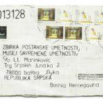 Mail 2013128 (2013) (ongoing Banja Luka series), Muzej Savremene Umjetnosti Republika Srpska