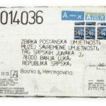 Mail 2014036 (2014) (ongoing Banja Luka series), Muzej Savremene Umjetnosti Republika Srpska