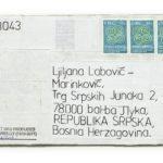 Mail 2013043 (2013) (ongoing Banja Luka series), Muzej Savremene Umjetnosti Republika Srpska
