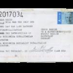 Mail 2017034 (to Chris Dreier c/o O.J.A.I.)
