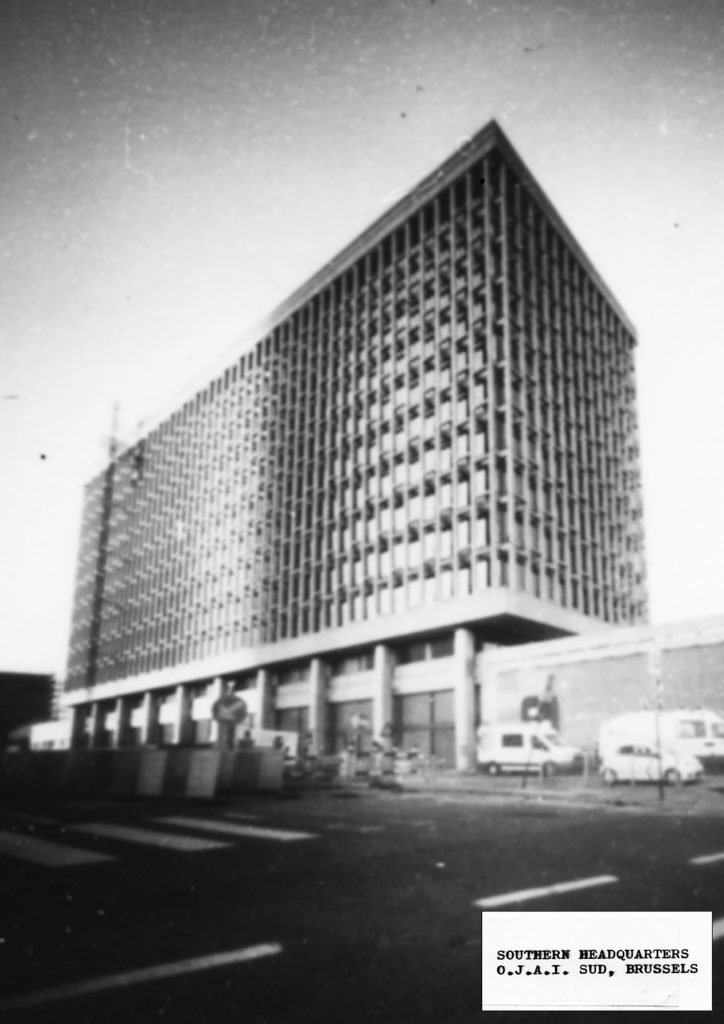 O.J.A.I. Sud Headquarters, pinhole photograph